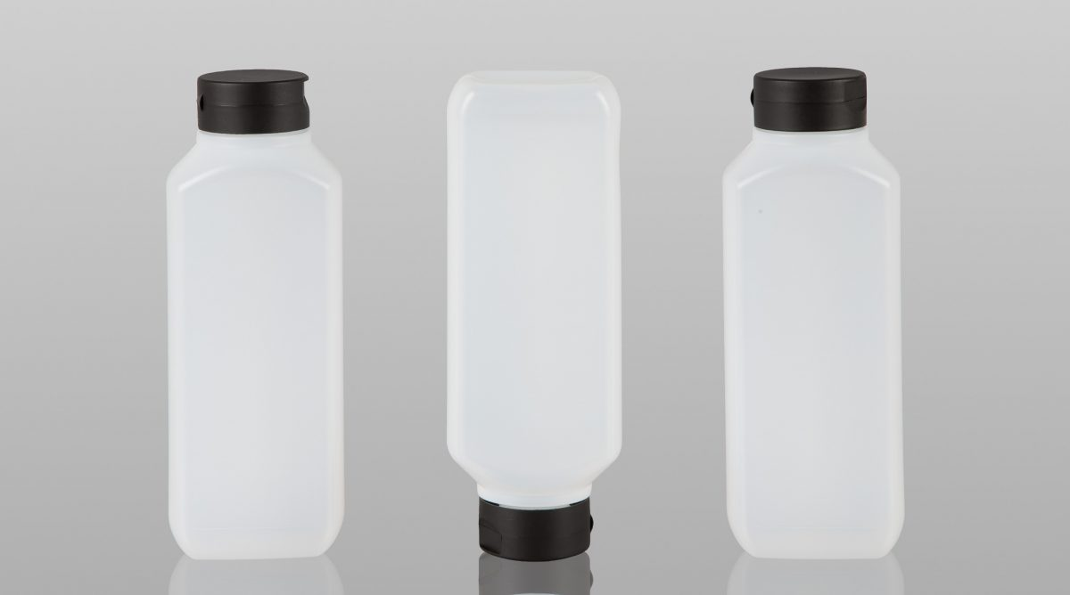 New Rectangular 1 Litre Bottle 3 Neck Options
